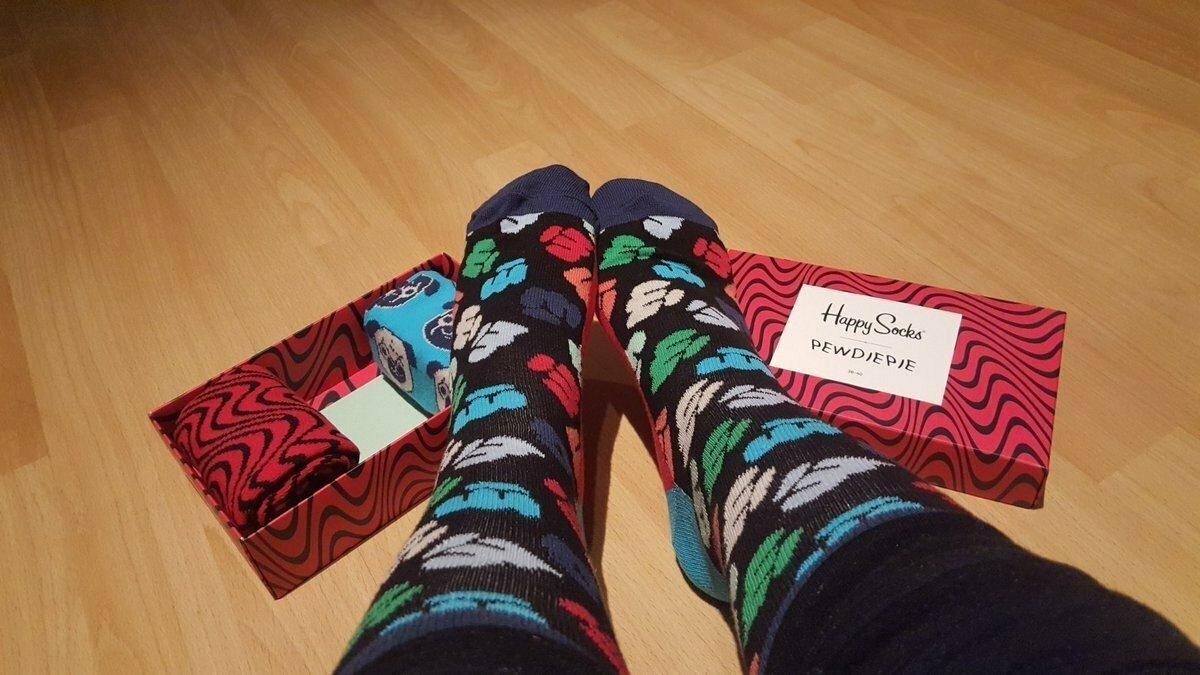 Брендированные носки