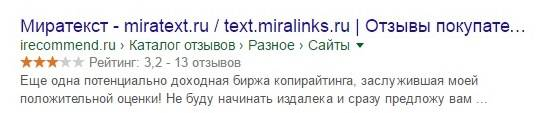 Мнение пользователей о Миратекст