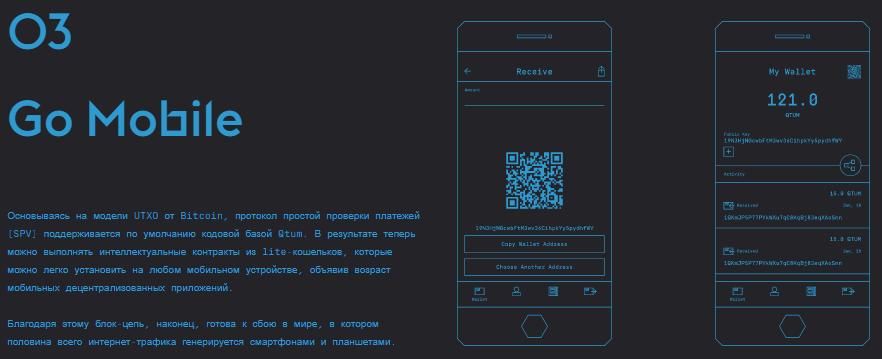 Смарт-контракты на мобильном устройстве