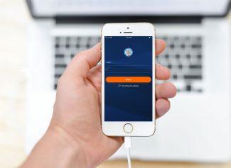 Приложение в мобильном