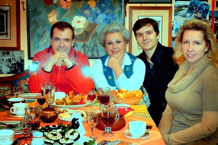 Семья Медведева