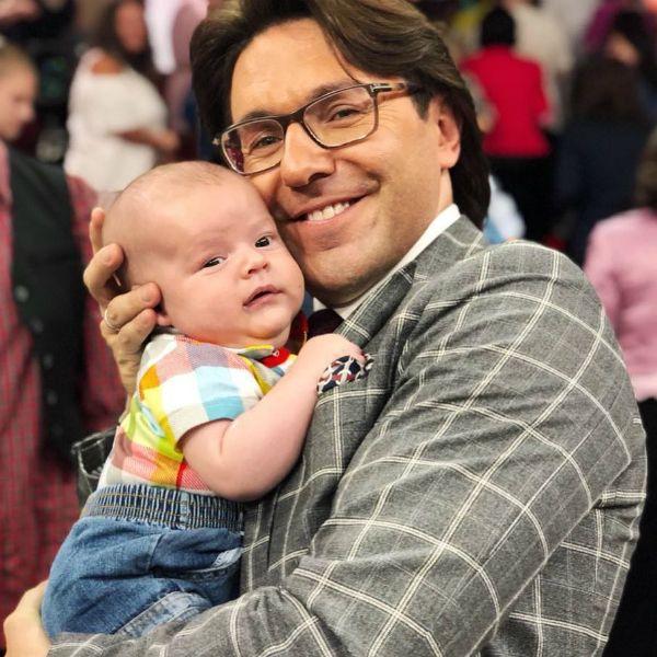 Андрея Малахов с сыном