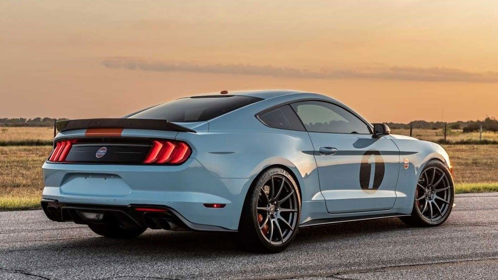 Ford Gulf Heritage Mustang