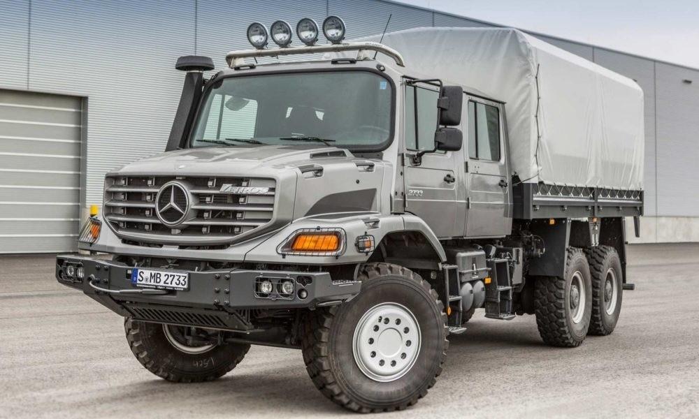 Mercedes-Benz Zetros 2733A