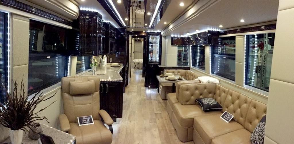 Салон Prevost h3-45 VIP