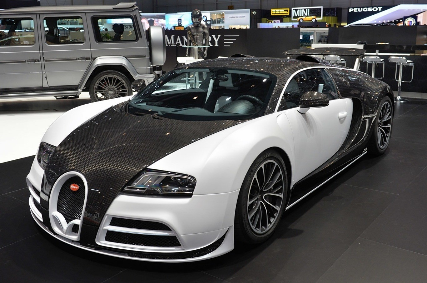 Limited Edition Bugatti Veyron by Mansory Vivere