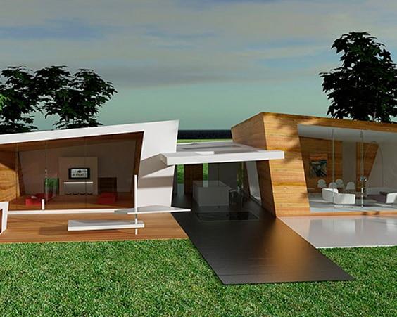 Really Modern Doghouse