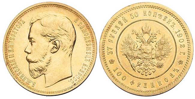 100 франков