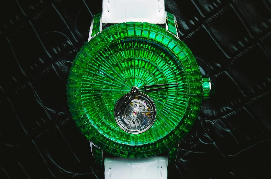 Jacob & Co Caviar Emerald Tourbillon