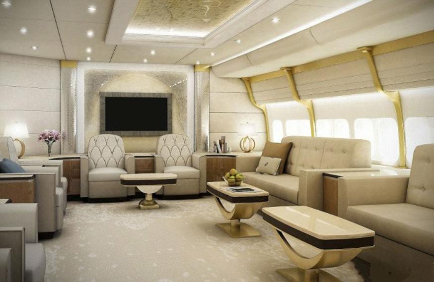 Салон Боинга 747