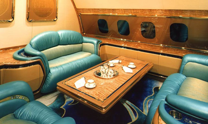 Салон Boeing 747-430 custom