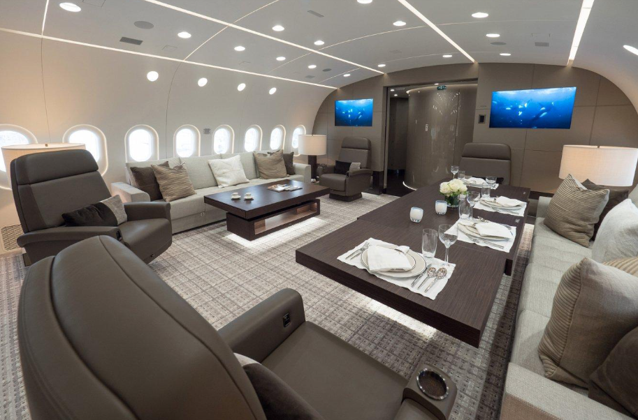 Салон Boeing 787-8 BBJ
