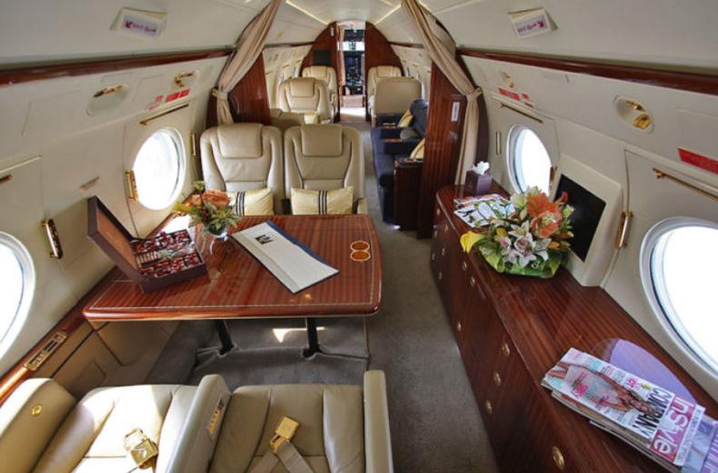Интерьер Gulfstream III
