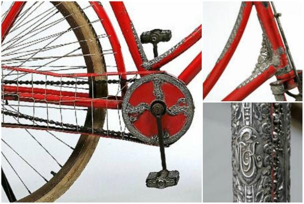 Rare Tiffany & Co Mounted Lady's Bike