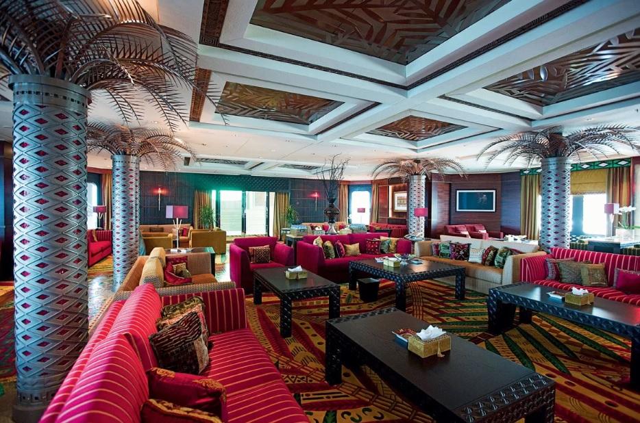 Яхта Dubai, интерьер