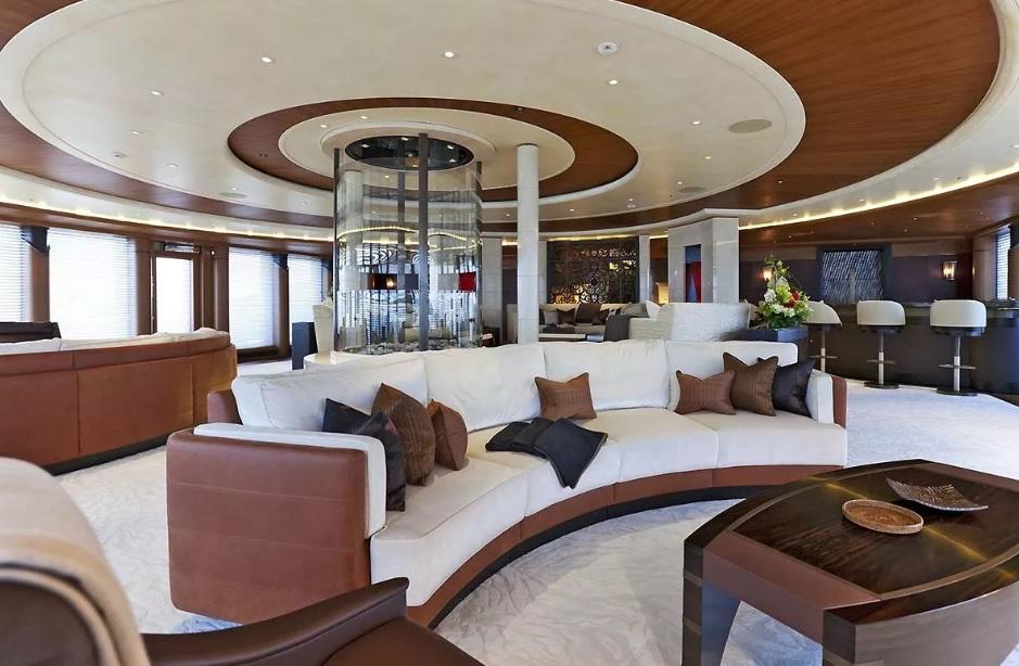 Яхта Serene, интерьер