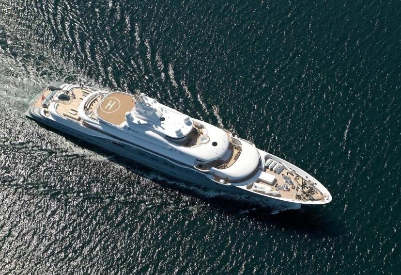 Яхта Radiant