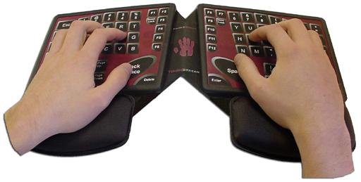 Fingerworks Keyboard Touchstream