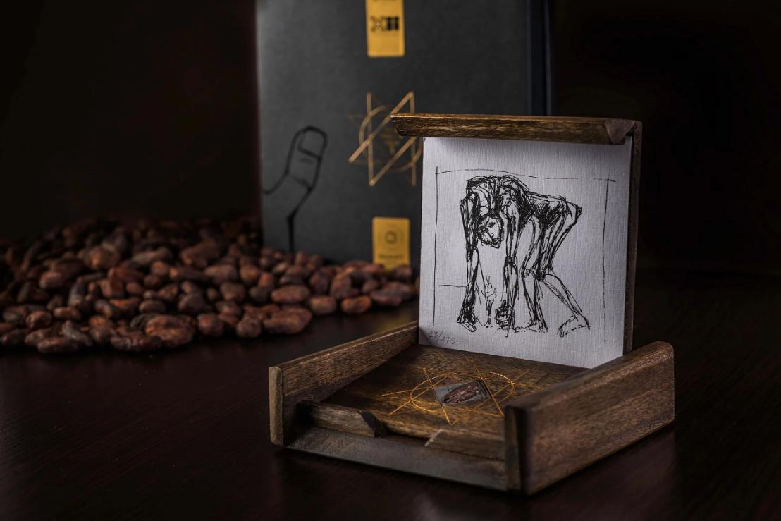 Рисунок Гуаясамина для шоколада То'ак