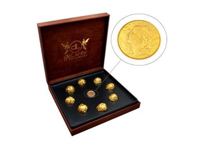 Золотой шоколад от DeLafee