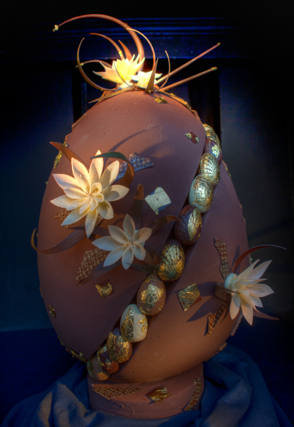 Шоколадное яйцо Керли