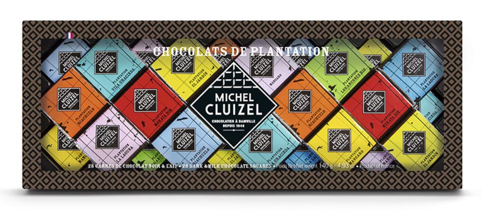 Набор шоколадных плиток Cluizel для дегустации