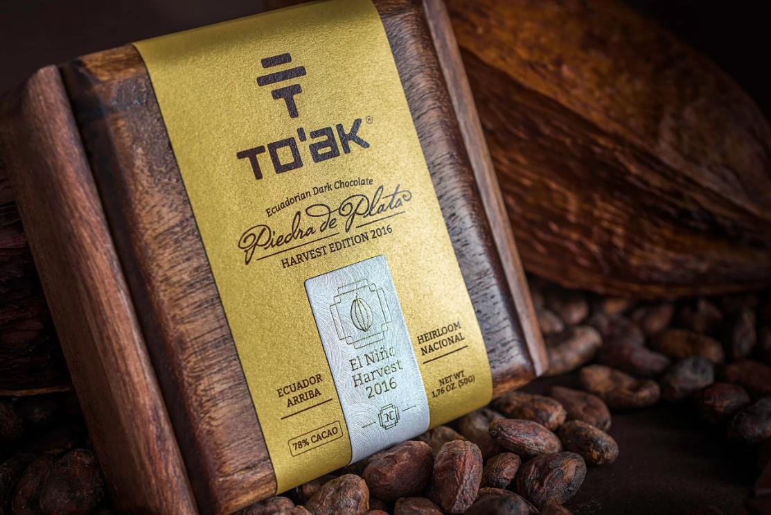 Деревянная упаковка для шоколада То'ак