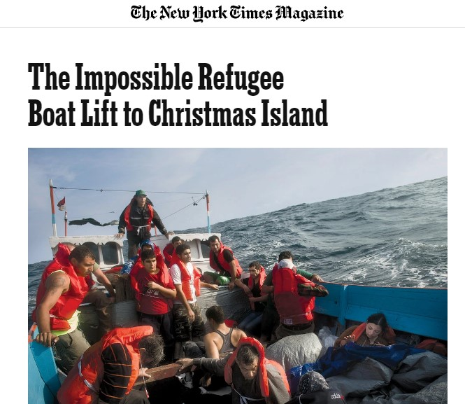 The Impossible Refugee Boat Lift to Christmas Island