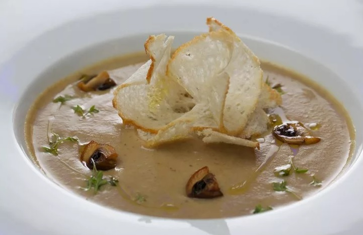 Белый трюфель в супе