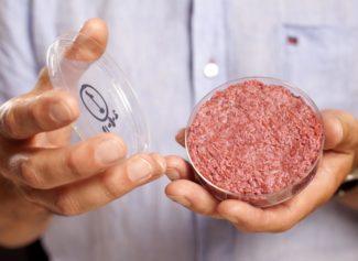 Котлета из искусственного мяса