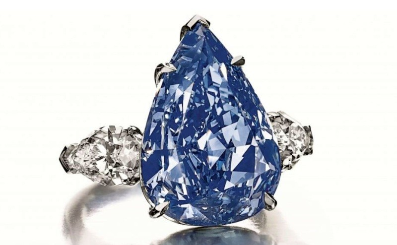 Winston Blue Diamond Ring