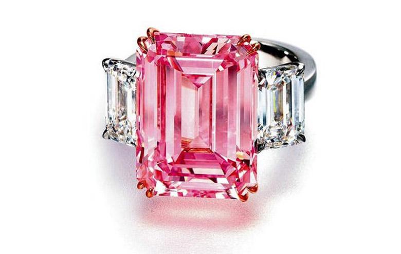 Perfect Pink Diamond Ring