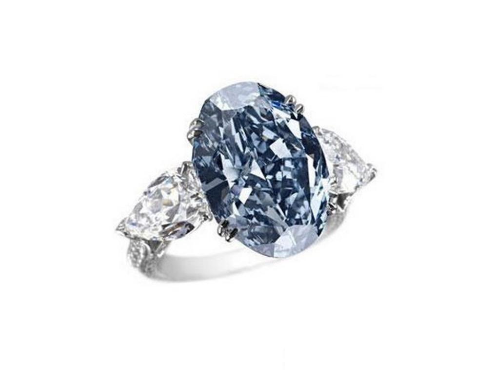 Chopard Blue Diamond Ring