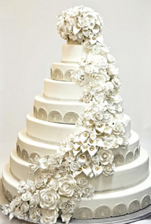 Торт Свадебная роскошь
