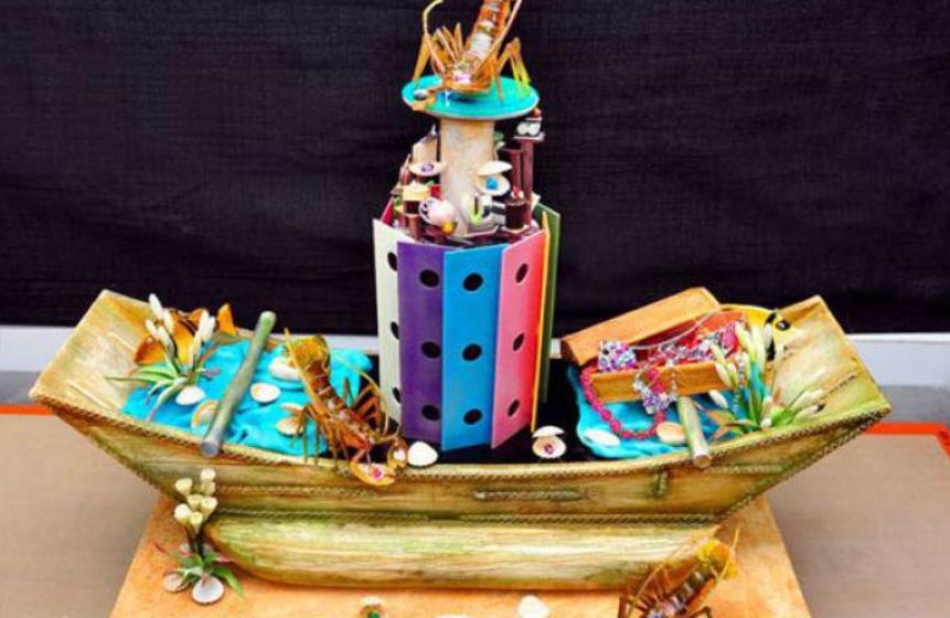 Pirate's Fantasy Cake