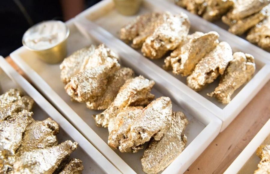 Золотые куриные крылышки