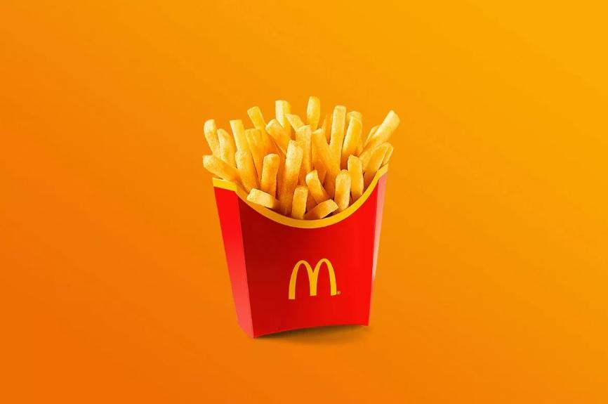 Картошка фри из обычного «Макдональдса»
