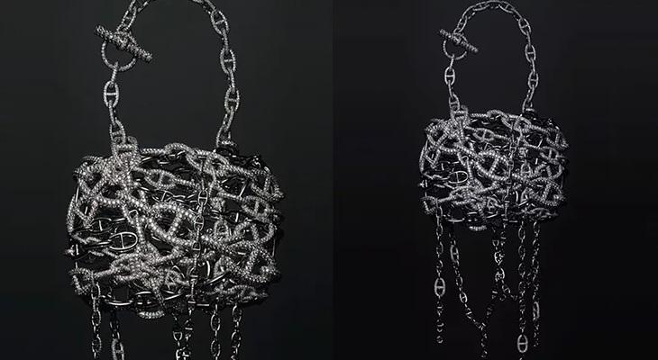Дизайн в виде маленьких якорных цепей от Hermes