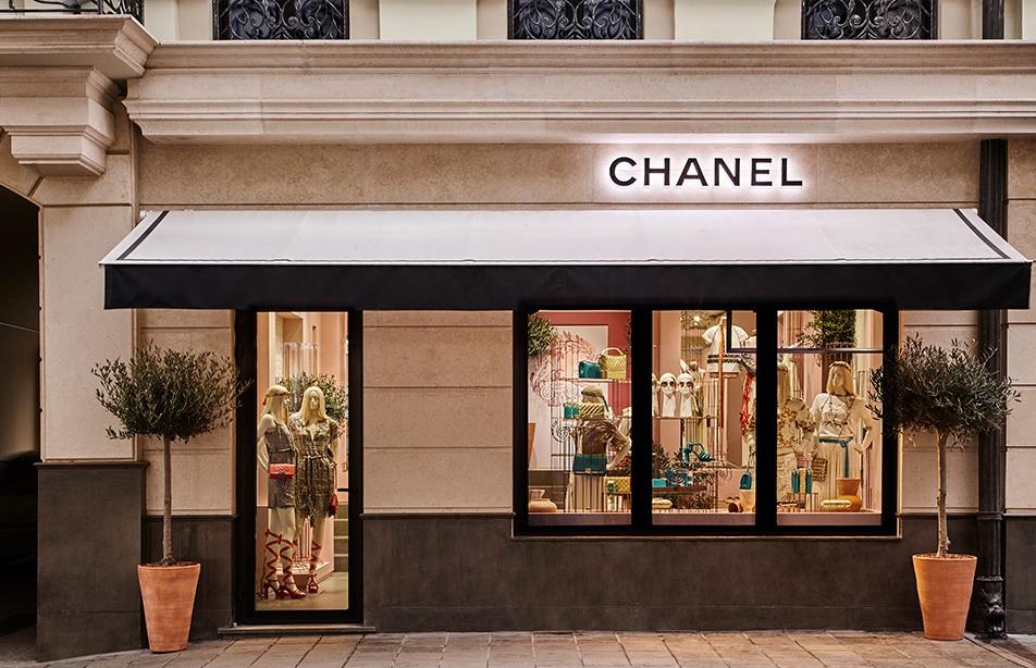 Магазин Chanel