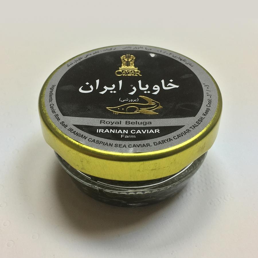 Иранская чёрная икра, производитель — Dаrya Caviаr Talеsh