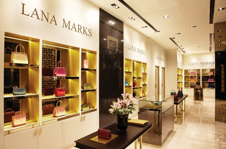 Люксовый магазина бренда Lana Marks