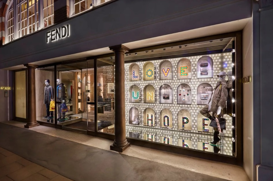 Фирменный бутик Fendi
